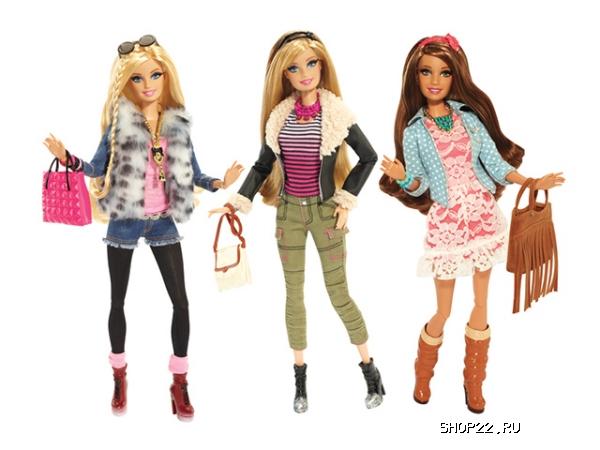 Mattel Куклы из серии Игра с модой , Barbie, в ассортименте - фото 11