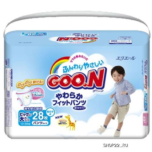Японские подгузники goon отзывы